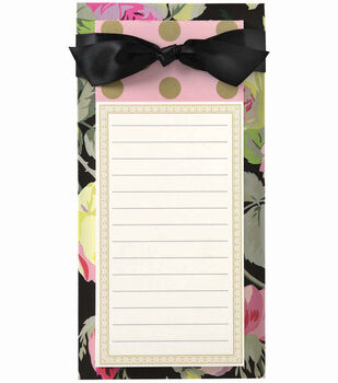 Anna Griffin Grace Black List Pad