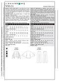 Mccall Pattern V8624 Bb (8-10-1-Vogue Pattern