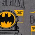 Batman Fleece Fabric-Bat Signal