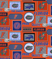 College Teams Florida Gators Cotton Fabric 44''-Packed Patches, , hi-res