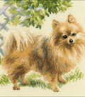 Pomeranian Counted Cross Stitch Kit 14 Count