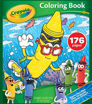 Crayola New Blue Coloring Book, , hi-res