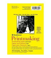 Strathmore Printmaking Paper Pad 5''x7'' 40 pcs, , hi-res