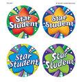 Teacher Created Resources Star Student Wear \u0027Em Badges, 32 Per Pack