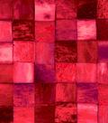 Anti-Pill Fleece Fabric -Red Tile