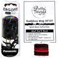 Pretty Twisted Headphone Wrap DIY Kit with Earphones-Heavy Metal