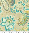 Waverly Upholstery Fabric 13x13\u0022 Swatch-Wild Card Mist