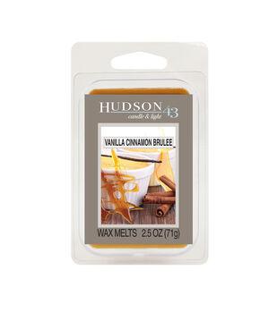 Hudson 43 Candle & Light Collection Wax Melt-Vanilla Cinnamon Brulee