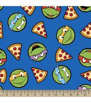 Teenage Mutant Ninja Turtles Print Fabric-Turtles and Pizza, , hi-res
