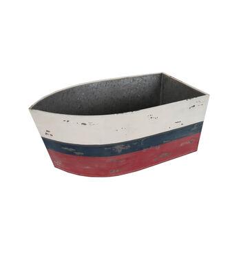 Americana Patriotic Metal Boat Chiller