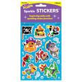 Fish Pirates & Crew Sparkle Stickers-Large 32 Per Pack, 6 Packs