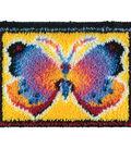 Wonderart Latch Hook Kit 15\u0022X20\u0022-Butterfly Fantasy