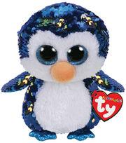 Ty Inc. Flippables Regular Sequin Payton Penguin, , hi-res