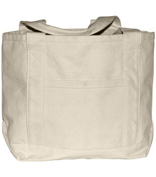 Canvas Boat Bag-Natural