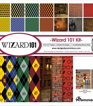 Reminisce Wizard Collection Paper Pad