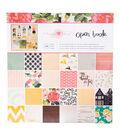 Crate Paper Maggie Holmes Open Book 48 Pack 12\u0027\u0027x12\u0027\u0027 Paper Pad