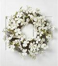 Fresh Picked Spring Dogwood & Berry Wreath-White