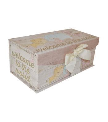 Organizing Essentials Medium Fliptop Storage Box-Junior Jungle