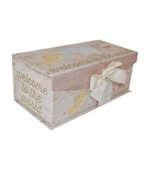 Organizing Essentials Medium Fliptop Storage Box Junior Jungle