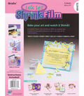 Grafix Ink Jet 6 pk 8.5\u0027\u0027x11\u0027\u0027 Shrink Films-White