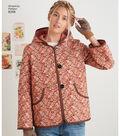 Simplicity Pattern 8298 Misses\u0027 Coat & Jacket-Size A (XS-S-M-L-XL)