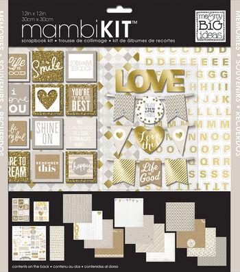 Me & My Big Ideas Mambi 12''x12'' Scrapbook Kit-Memories