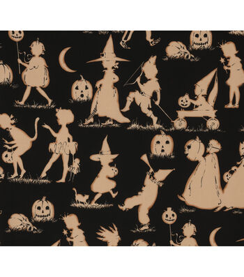 "Halloween Cotton Fabric 45""-Halloween Lane"