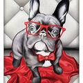 RTO Diamond Mosaic Embroidery Kit 24X30cm-Dandy Bulldog