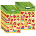Strawberry Scented Stickers 12 Packs