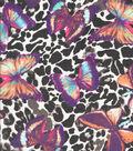 Silky Prints Yoryu Fabric 56\u0022-Butterfly