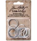 Tim Holtz Idea-ology 15 Pack 1\u0027\u0027 Tag Press Rings