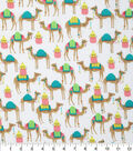 Novelty Cotton Fabric -Trendy Camels