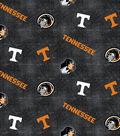 University of Tennessee Volunteers Flannel Fabric 42\u0022-Distressed Logo