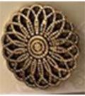 La Mode Antique Gold Button