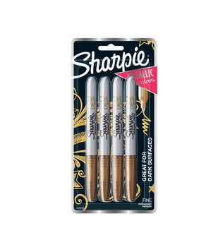 Sharpie Markers-Metallic Gold