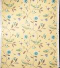 Home Decor 8\u0022x8\u0022 Fabric Swatch-Print Fabric Eaton Square Singer Lemon