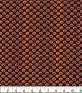 Halloween Cotton Fabric-Mini Jack-o\u0027-lanterns