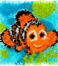 Disney Latch Hook Kit 12\u0022X12\u0022-Nemo-Finding Dory