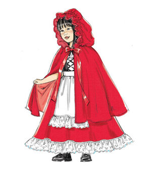 McCall's Pattern M7454 Children's/Girls' Dress-Up Costumes-Size 3-8