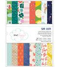 American Crafts Single-Sided Paper Pad 6\u0022X8\u0022 24/Pkg-Star Gazer