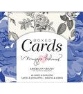 American Crafts A2 Cards W/Envelopes 40/Box-Maggie Holmes Flourish