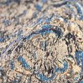 Brocade Fabric-Ripple Blue/Green