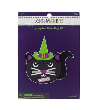 Little Makers Halloween Foam Pumpkin Decorating Kit-Cat