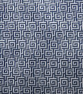 Home Decor 8\u0022x8\u0022 Fabric Swatch-SMC Designs Oracle / Navy