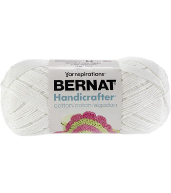 Bernat Handicrafter Cotton Solids Yarn