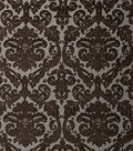Home Decor 8\u0022x8\u0022 Fabric Swatch-Print Fabric Eaton Square Crossway Chocolate
