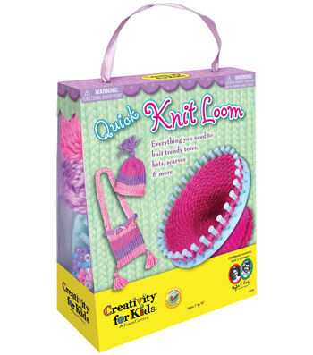 Creativity for Kids Quick Knit Loom Kit