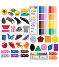 Colors & Shapes Mini Bulletin Board Set, 3 Sets