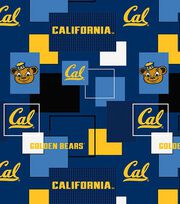 University of California, Berkeley Golden Bears Cotton Fabric -Modern Block, , hi-res