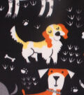 Blizzard Fleece Fabric 59\u0022-Ruff! Doggies